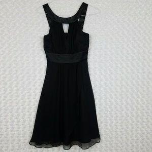 White House Black Market Size 0 Black Dress